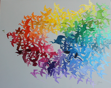 Color Wheel II Birds in Flight (web).png